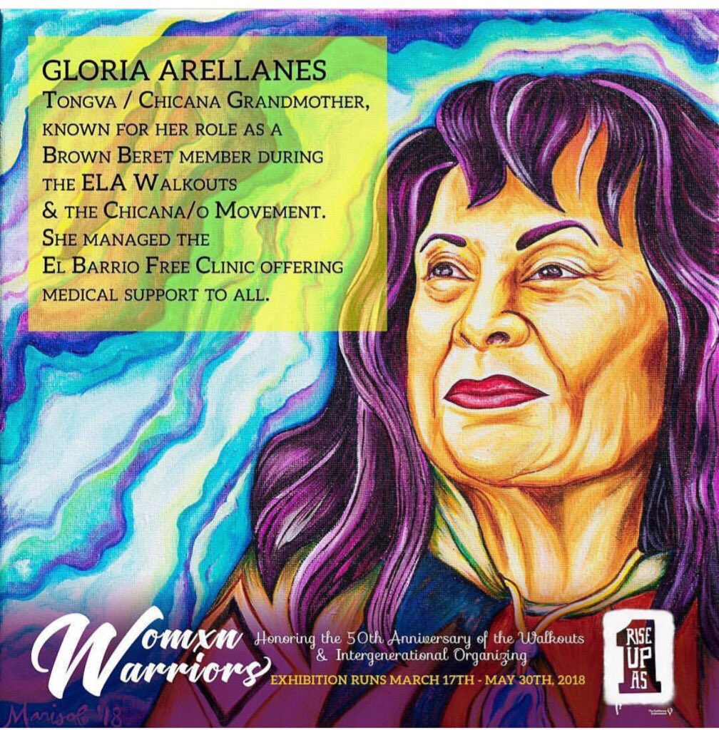 0e80d05c57db6 Portrait of Gloria Arellanes by  risasydignidad. Join us March 17th-7-10pm.  A collaboration between  mujeresdemaiz  innercitystruggle  calendow and ...