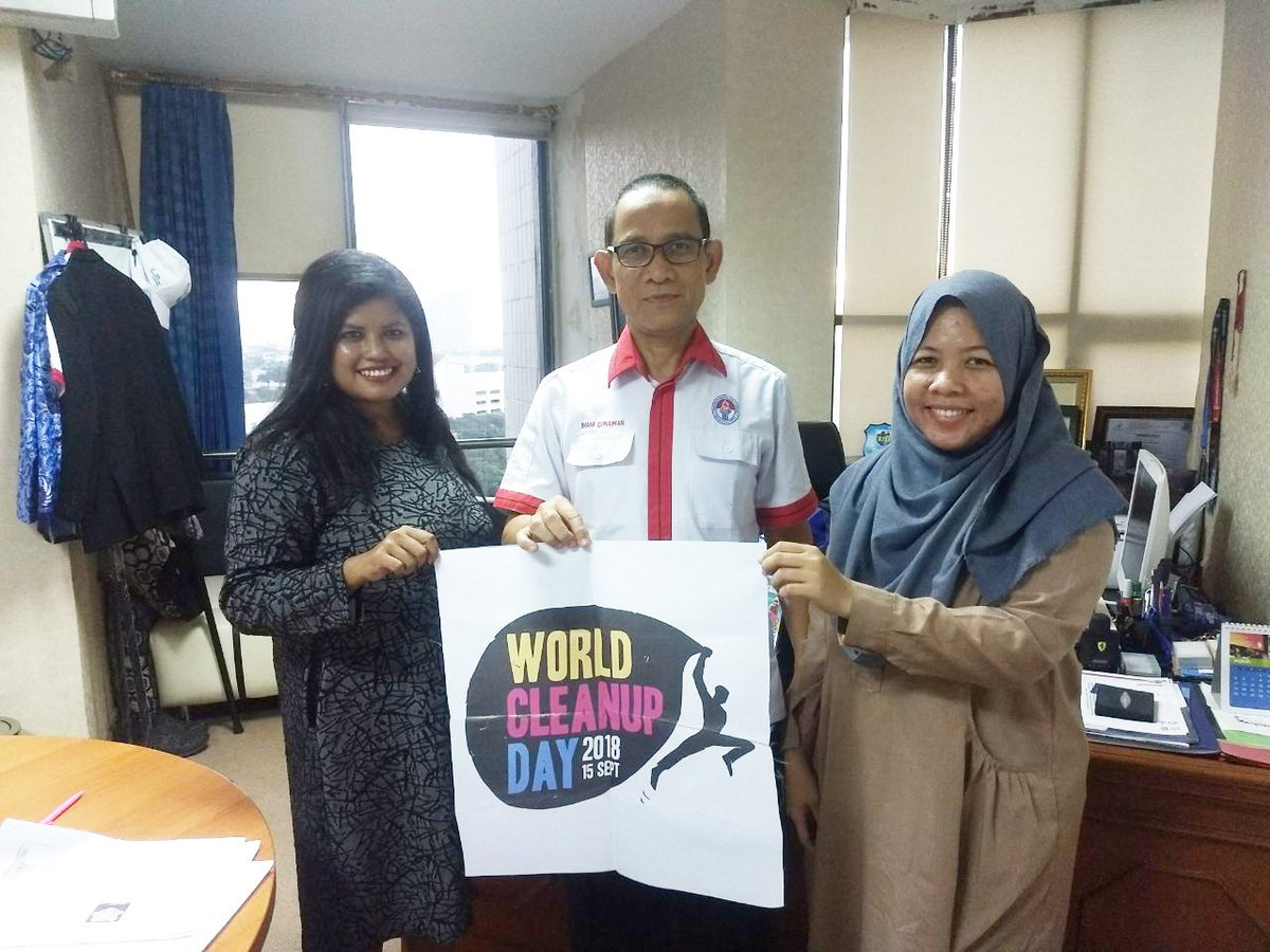 Image result for world cleanup day indonesia