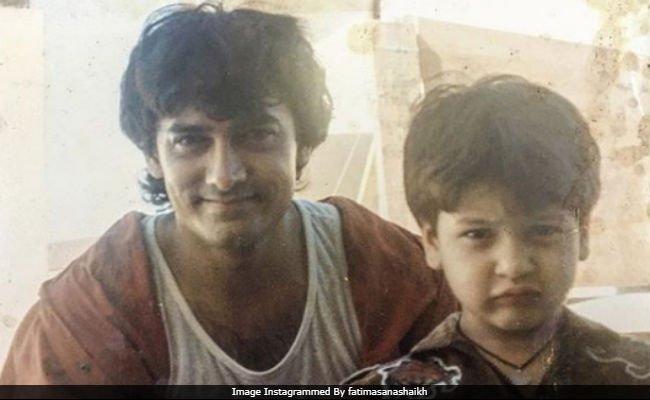 Seen Yet? @aamir_khan's #Dangal Co-Star #FatimaSanaShaikh Dug Out This Old Pic Of Him https://t.co/VZu9ByGKaI