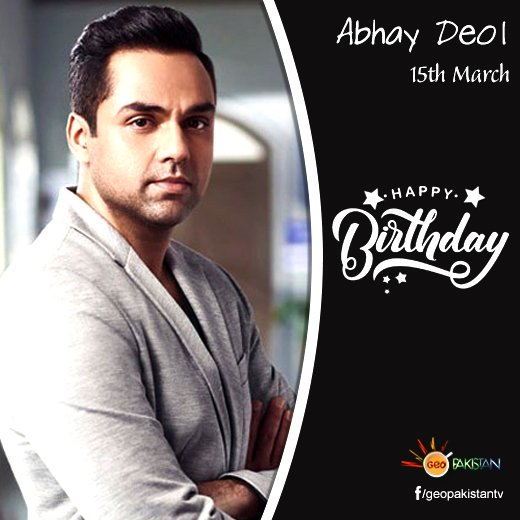 Wishing you another year full of blessings. Happy Birthday Abhay Deol!