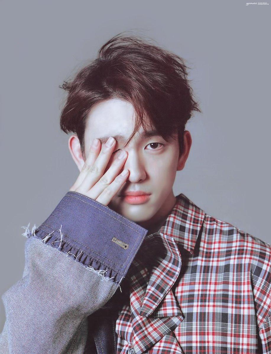 20180315 HIGHCUT vol.218 #하이컷 #GOT7 #Jinyoung #JacksonWang