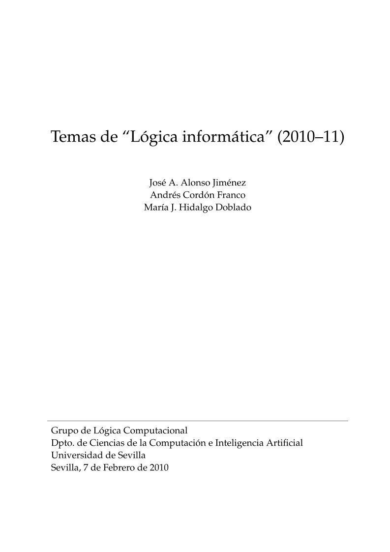 #PDF de #Programación - Temas de Lógica...