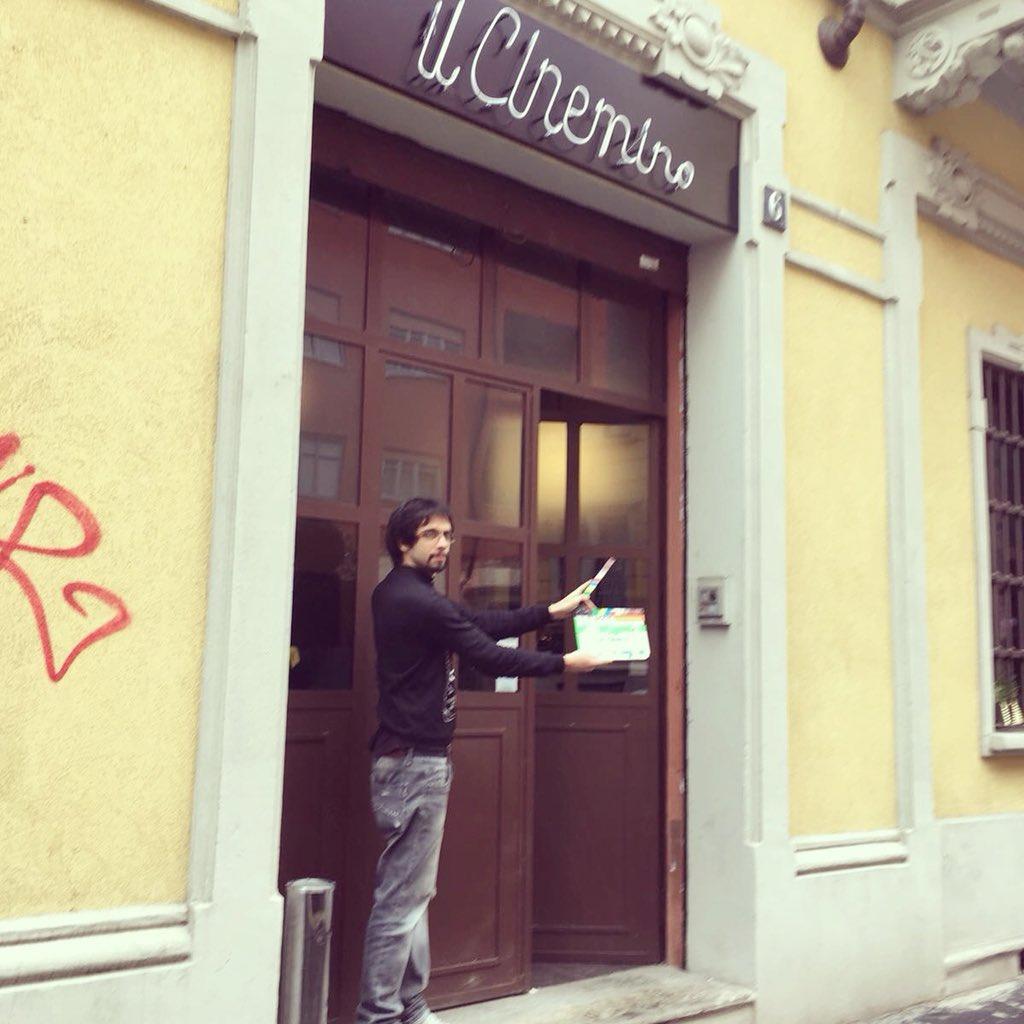 Shooting day4 #ilterzoindizio 🔜 https://...
