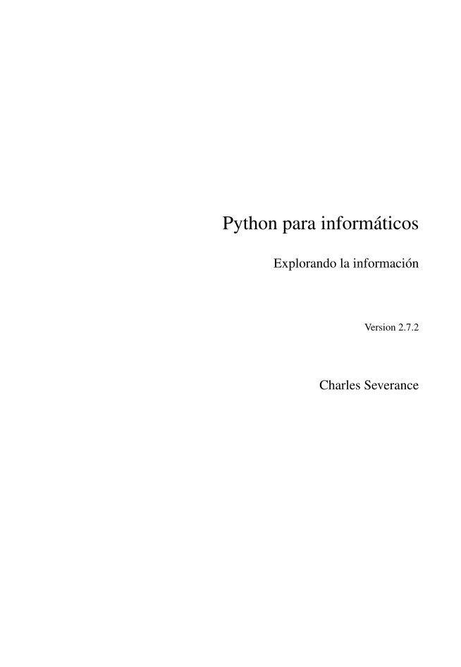 #PDF de #Programación - Python para info...