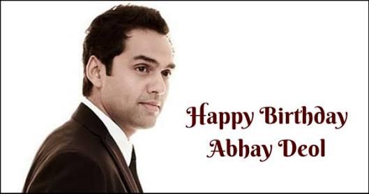 Happy Birthday Abhay Deol..