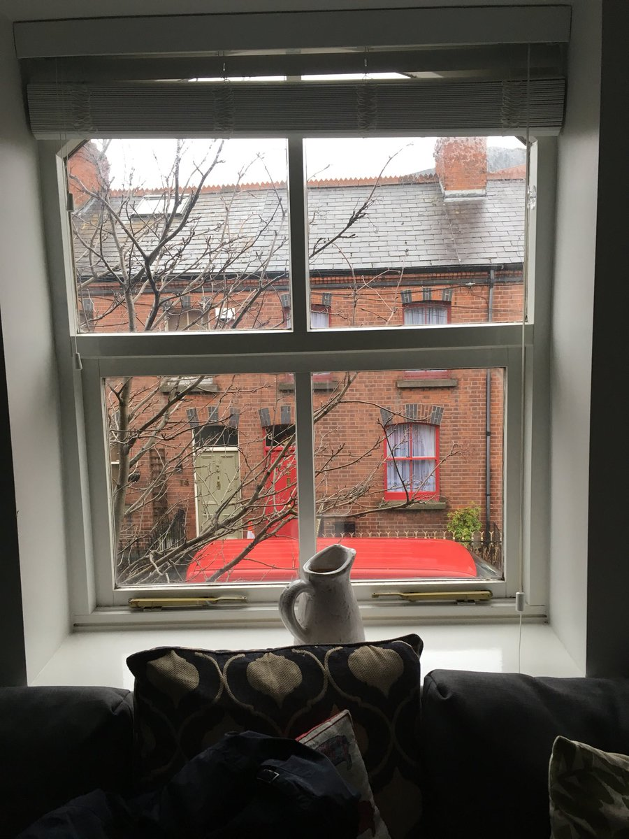 Questo il panorama dalla nostra casetta....