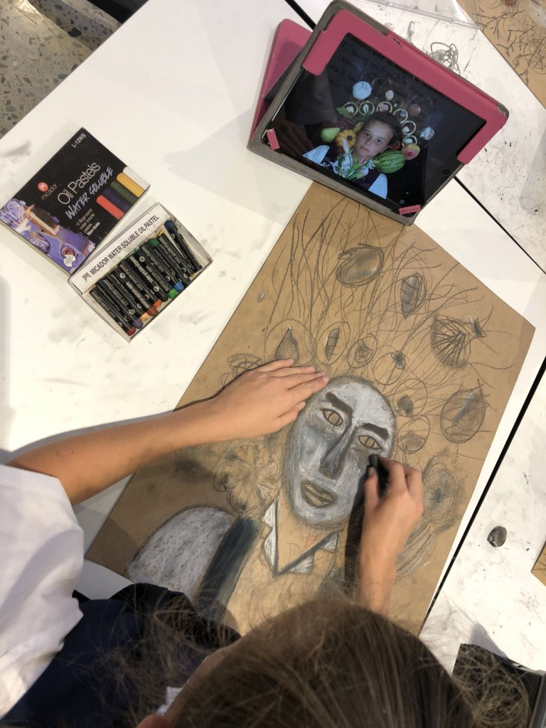 Seeing our work differently through the lens and filters... #artsed #edtech #ipaded