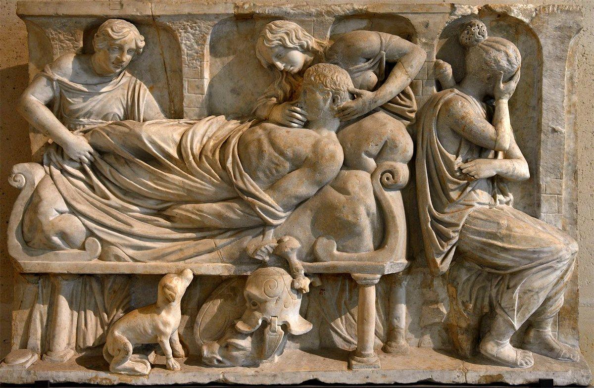 Los Idus de Marzo han llegado. Esta domus, siempre leal a Julio César, está de luto. Ha muerto el mejor de los romanos. El mundo jamás volverá a ser igual. #IdesOfMarch #JuliusCaesar #IdusDeMarzo #FelizJueves #15marzo #IdiDiMarzo