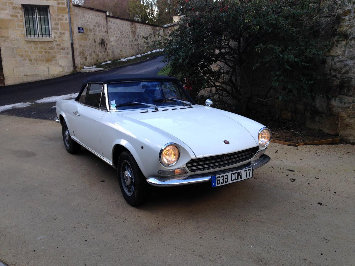 Fiat124 Hashtag On Twitter 1970 Fiat 124 Sport Spider 1 Reply 5 Retweets 20 Likes