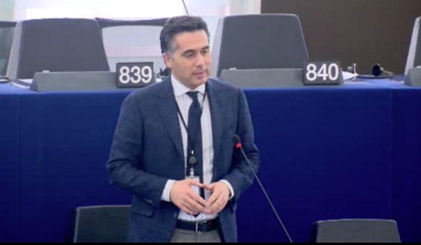 Oggi a #Strasburgo sono intervenuto sul Piano d\