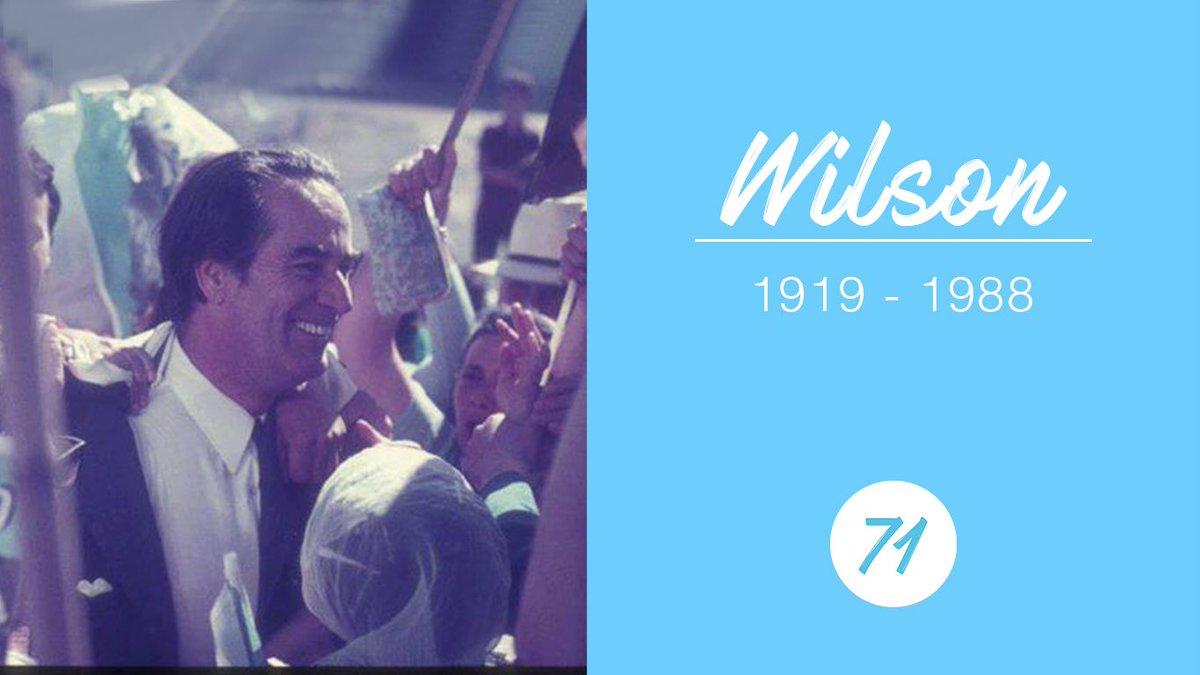 Recordamos al caudillo a 30 años de su fallecimiento, ¡VIVA WILSON!