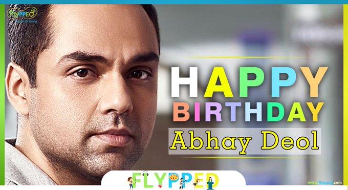 Happy Birthday Abhay Deol