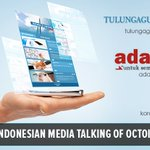 Image for the Tweet beginning: Media of Indonesia again writes
