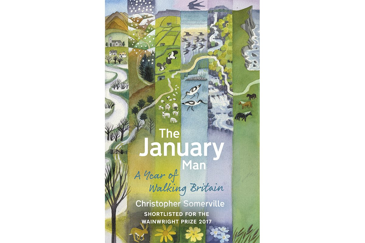 THE JANUARY MAN: A Year of Walking in Britain #review @somerville_c https://t.co/5kpBZdllP2