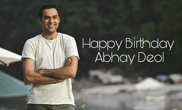Here\s wishing the handsome- Abhay Deol, a very happy birthday!