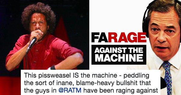 #recap Rage Against the Machine aren't h...