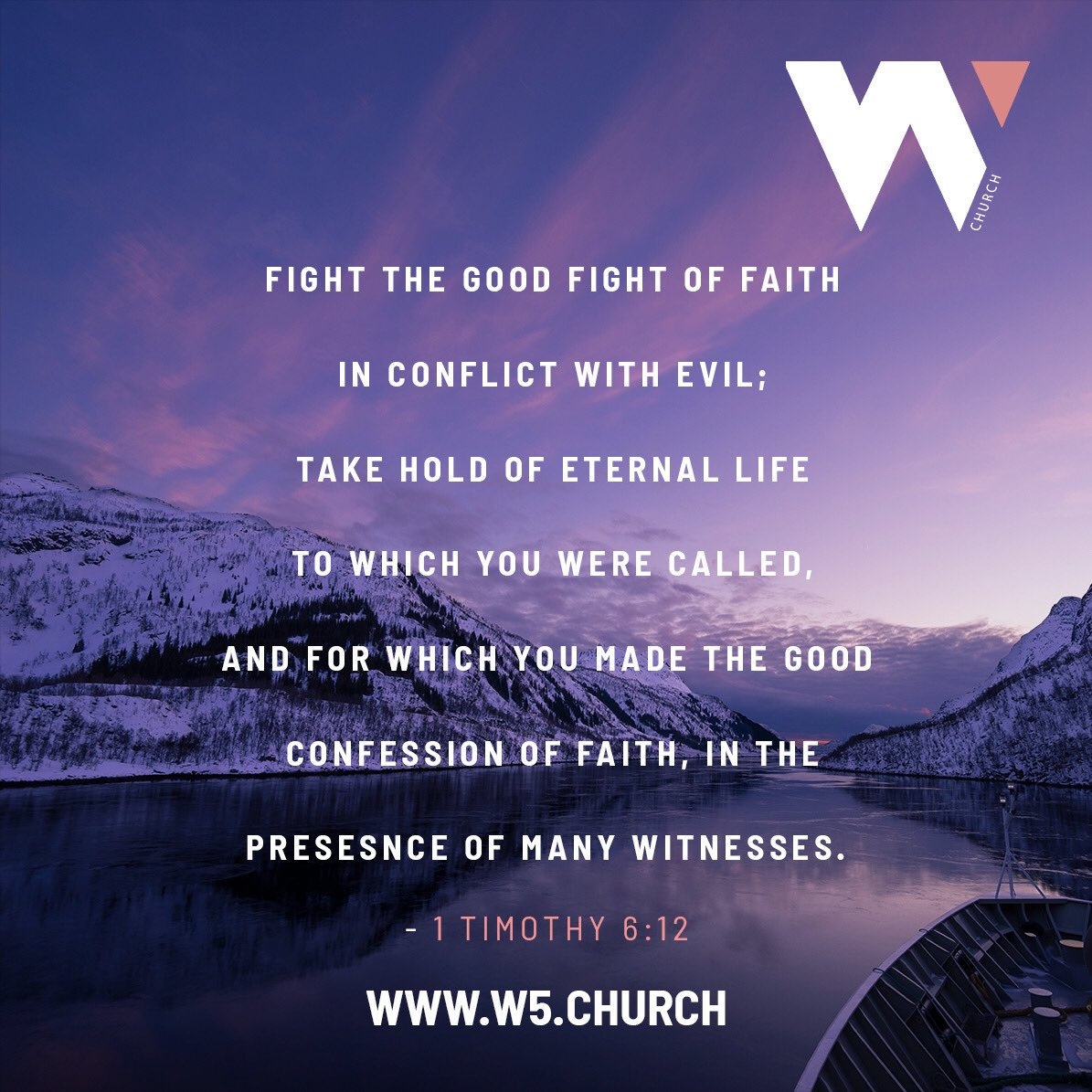 W5 church on Twitter: