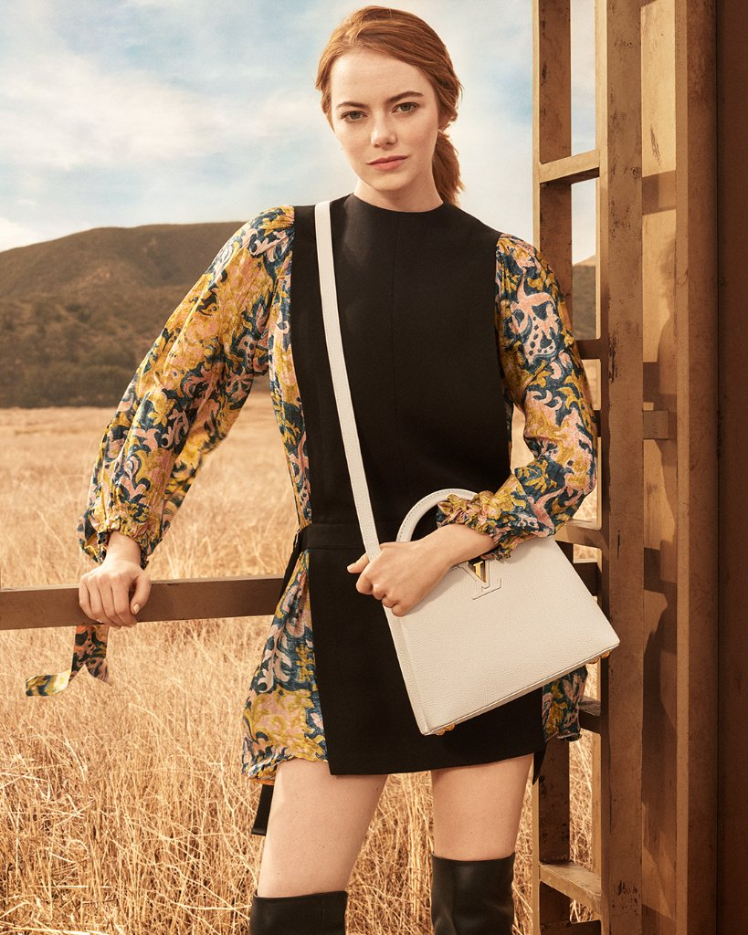 Introducing Emma Stone as the newest muse for #LouisVuitton.  Discover the Spirit of Travel campaign now at  https://t.co/8if5MCg1xp