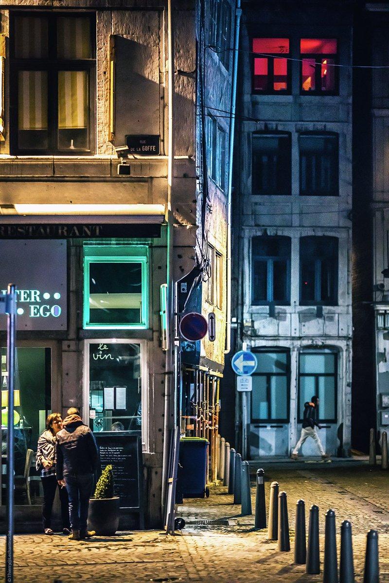 Thierry Lechanteur On Twitter Liege La Nuit La Rue De La Goffe