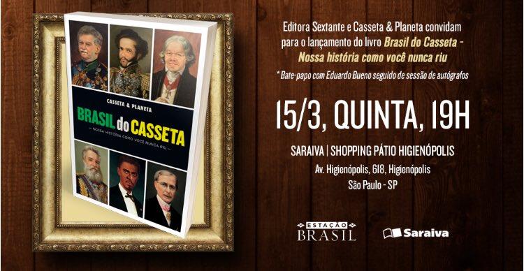 Alô galera de São Paulo! Espero vocês!