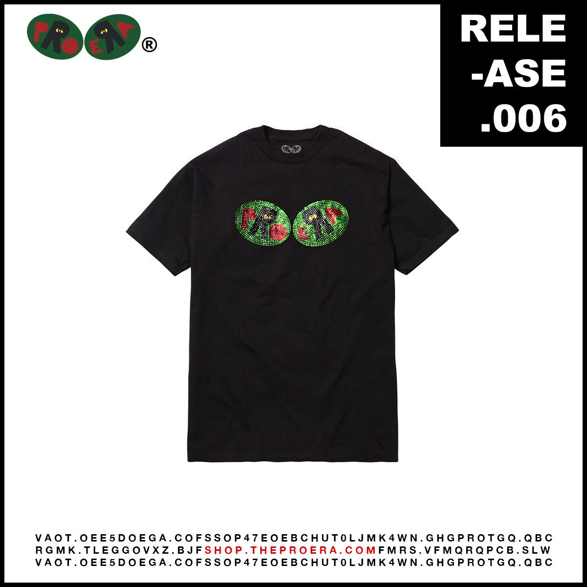 ec0569eff6670 New Pro Era studded logo tees available right now on  http   shop.theproera.com ! Limited so get them before they re gone.