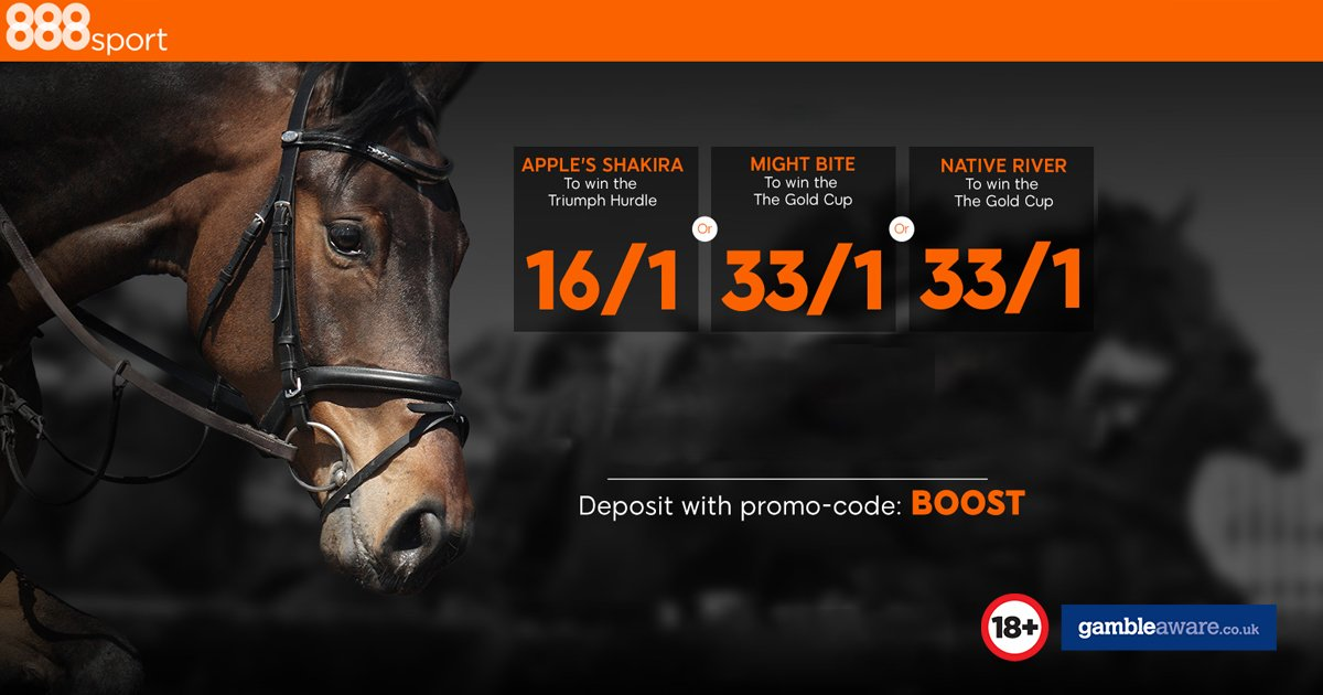 Cheltenham Gold Cup Enhanced Odds at 888sport