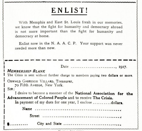 East St. Louis Massacre and the Silent Parade, 1917. The Crisis. #NAACP #civilrights tinyurl.com/y9kv3ybc