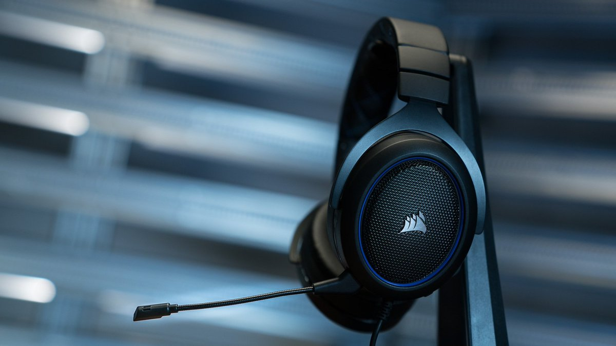 The HS50 Stereo Headset. Stylish, sleek, and built to last. corsair.com/hs50-gaming-he…