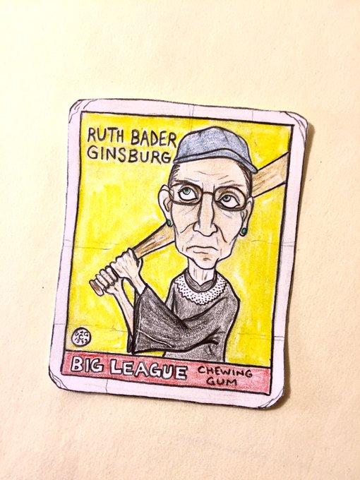 Happy birthday to Ruth Bader Ginsburg and the Iron Sheik!