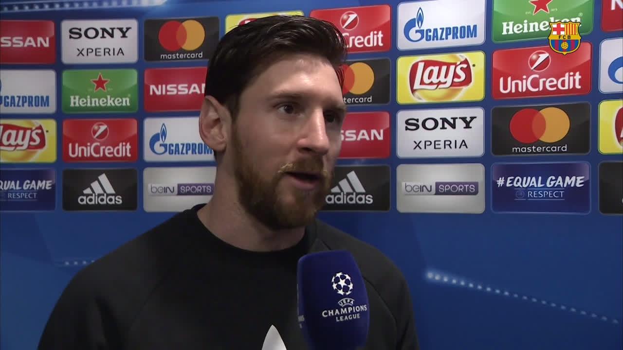 �� Leo #Messi on #BarçaChelsea ���� https://t.co/KVwE9bWndK