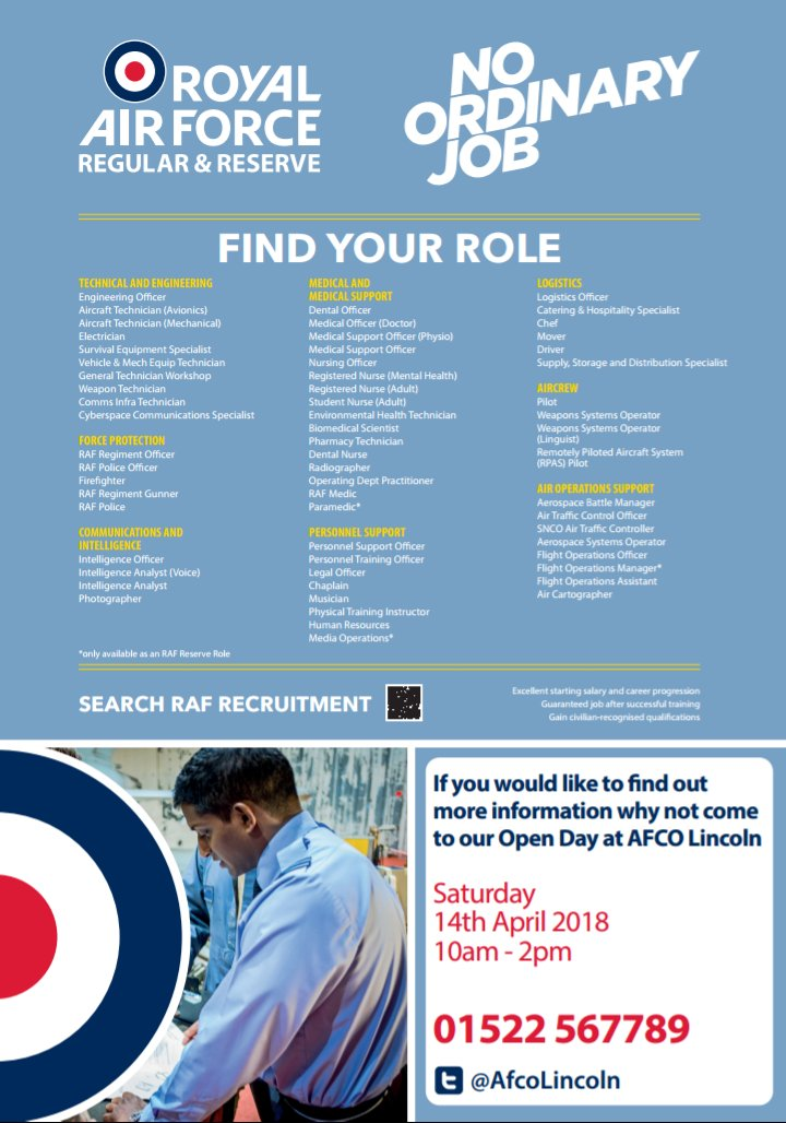 Raf Careers Lincoln On Twitter We Have Applications Flooding In