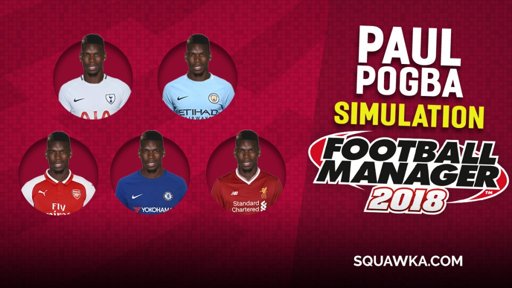 3. How would Paul Pogba get on at Man City?  We simmed Paul Pogba at each of Man Uniteds top-six rivals on Football Manager - sqwk.at/PogbaFM