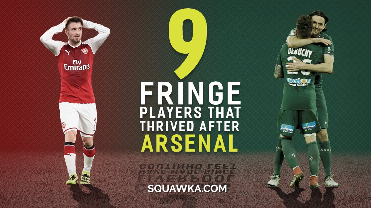 5. NINE players that shone after leaving Arsenal - sqwk.at/NineArsenal  Mathieu Debuchy the latest.