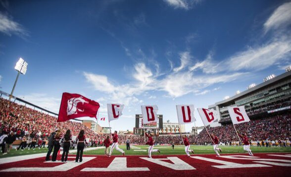 One week away from the start of Spring Ball at WSU! #GoCougs