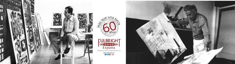 En 1969 40 españoles viajan con #Fulbright. 2 grandes artistas: Grau Garriga, mayor ejemplo de la renovación del tapiz contemporáneo en España y el pintor Fornells Pla se expuso al expresionismo abstracto goo.gl/nZyFt7 #FulbrightSpain60 #Masqueunabeca #ThrowbackThursday