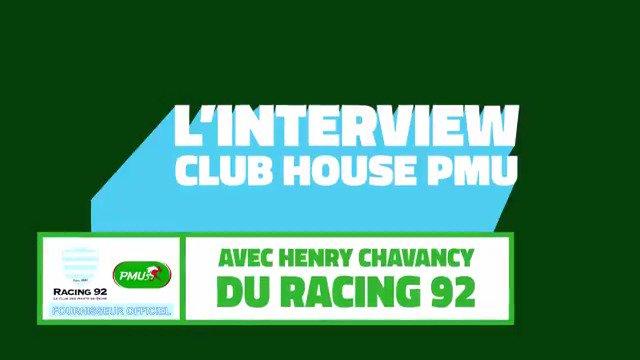 RT @PMU_Sportif: Avant le Derby Francilien entre le @racing et Paris ce samedi, découvrez l'interview  d'@HenryChavancy, joueur des Ciel…