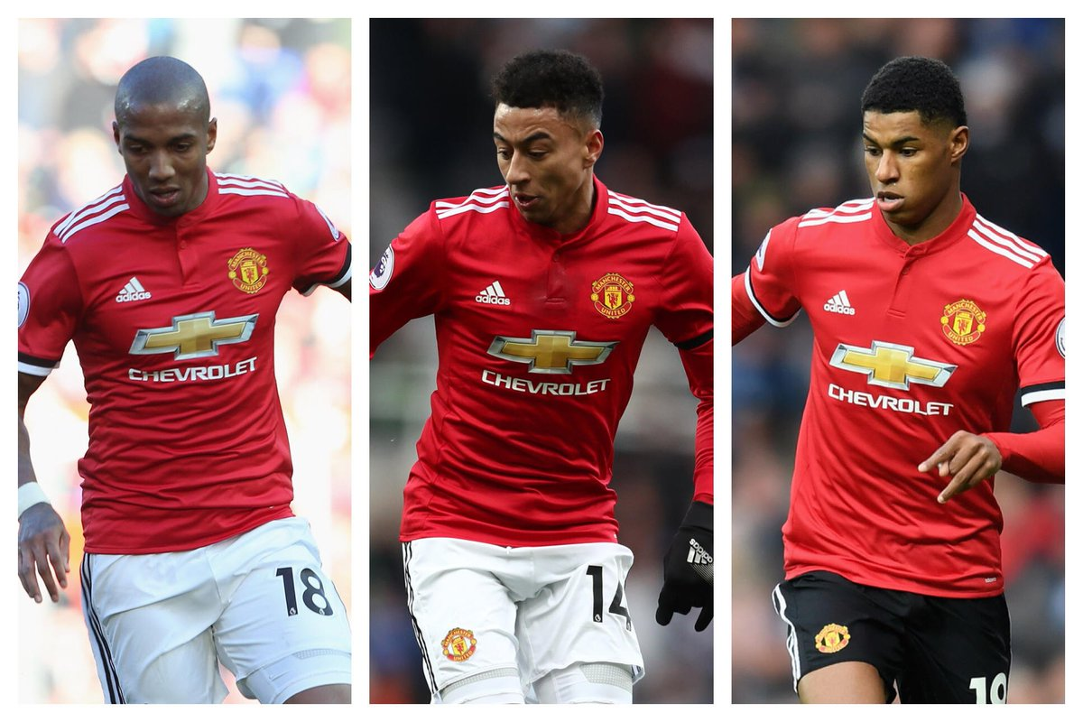 Congratulations to Ashley Young, Jesse Lingard and Marcus Rashford, who have been named in the England squad for their friendlies against Holland and Italy. #MUFC