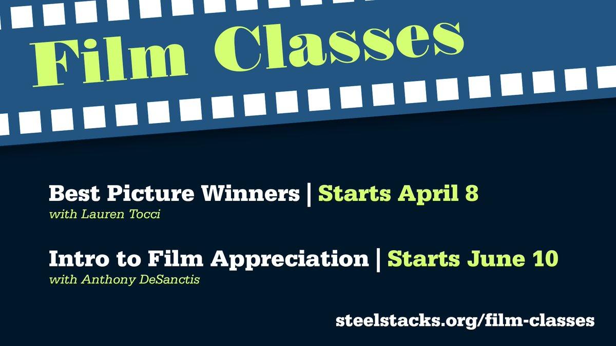 FILM APPRECIATION CLASSES start soon! Info: buff.ly/2IsA5wb