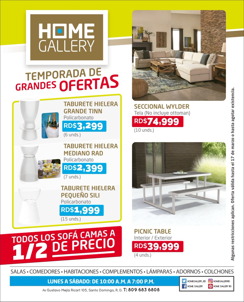 Home Gallery Homegallery_rd Twitter # Muebles Gustavo Mejia Ricart