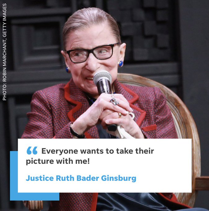 Happy 85th birthday, Supreme Court Justice Ruth Bader Ginsburg.