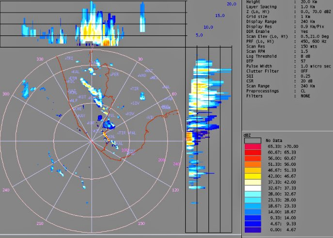 My Weathercast On Twitter Moderate To Heavy Rains In Trivandrum