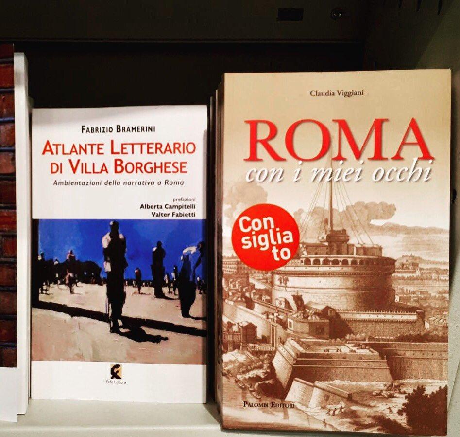 """La Libreria IBS+LIBRACCIO in via Nazionale """"consiglia"""" il mio libro. Io, emozionata e grata, condivido #romaconimieiocchi #Romeisus @Mysnughome1 @BeautyfromItaly @AMB_SEBASTIANI @AriannaAmbrosi0 @Capitolivm @caputmundiHeidi @marco_asfalto @romewise @Mustapha1508 @Elisa27071981"""