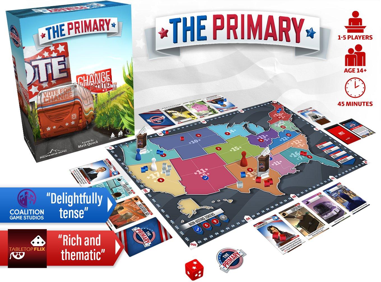 The Primary - Live on Kickstarter! | BoardGameGeek | BoardGameGeek