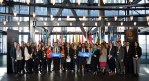 40 Fulbrighters gathered in Luxembourg & Belgium to learn about the inner workings of the E.U. & #NATO and how the U.S. & Europe work together to address todays most pressing global issues. bit.ly/2In110z @fulbrightBELUEU #Fulbright