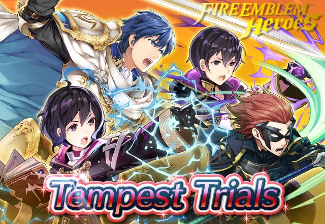 Tempest Trials: Invisible Ties has begun! There are also daily quests to earn rewards, including Refining Stones, and a Log-In Bonus where you can get up to 13 Orbs! #FEHeroes