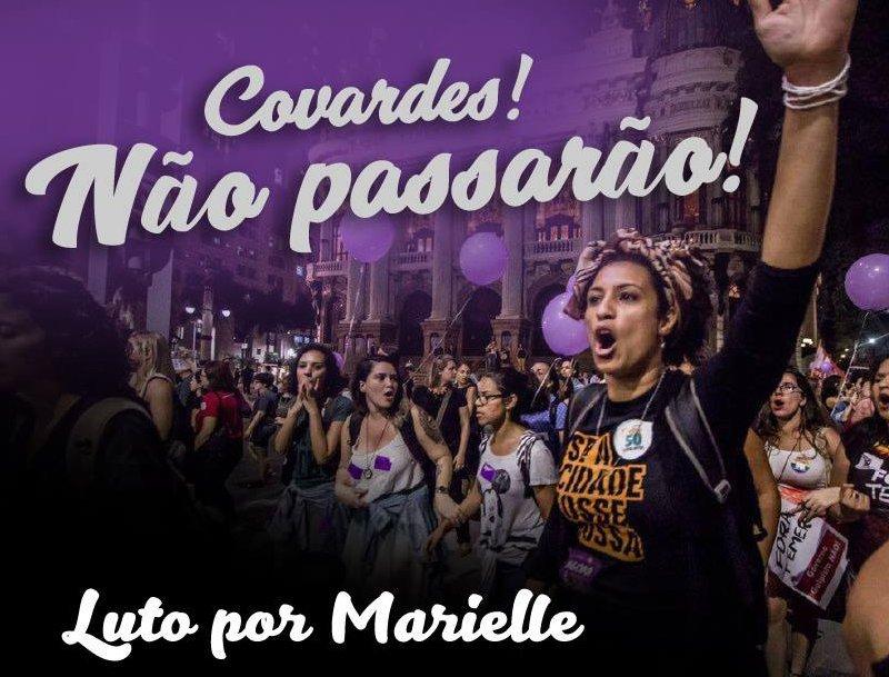 Triste nouvelle que celle de l'assassinat de #MarielleFranco, militante pour les droits à #RioDeJaneiro  Le #ForumSocialMondial2018 qui se tient en ce moment au Brésil (Salvador, Bahia) est sous le choc.   https://t.co/xFEuGoCGDh
