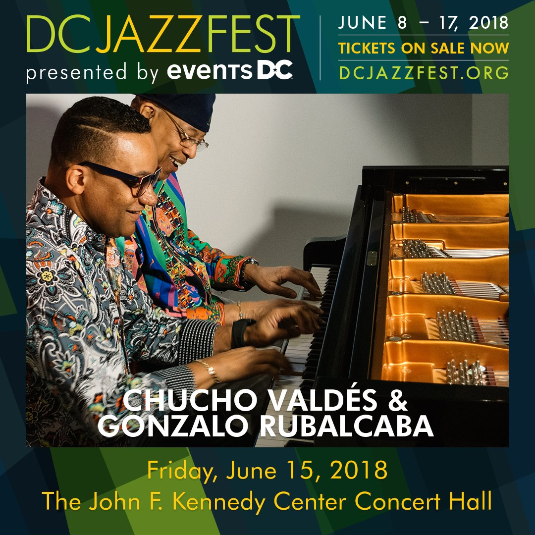 Reloaded twaddle – RT @dcjazzfest: The DC Jazz Festival announces our return to @kencen for a stell...