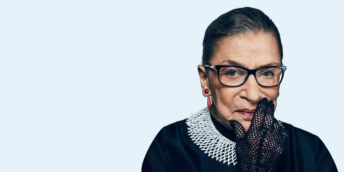 Ruth Bader Ginsburg is 85 today!   Happy birthday!