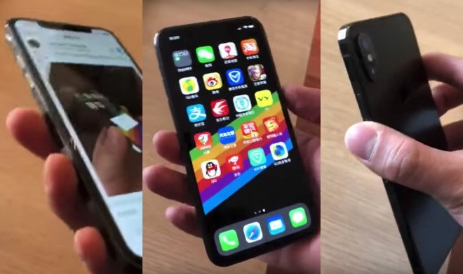 Highly questionable video claims to show #iPhoneSE2 with #iPhoneX styling https://t.co/jFYokbd3DU