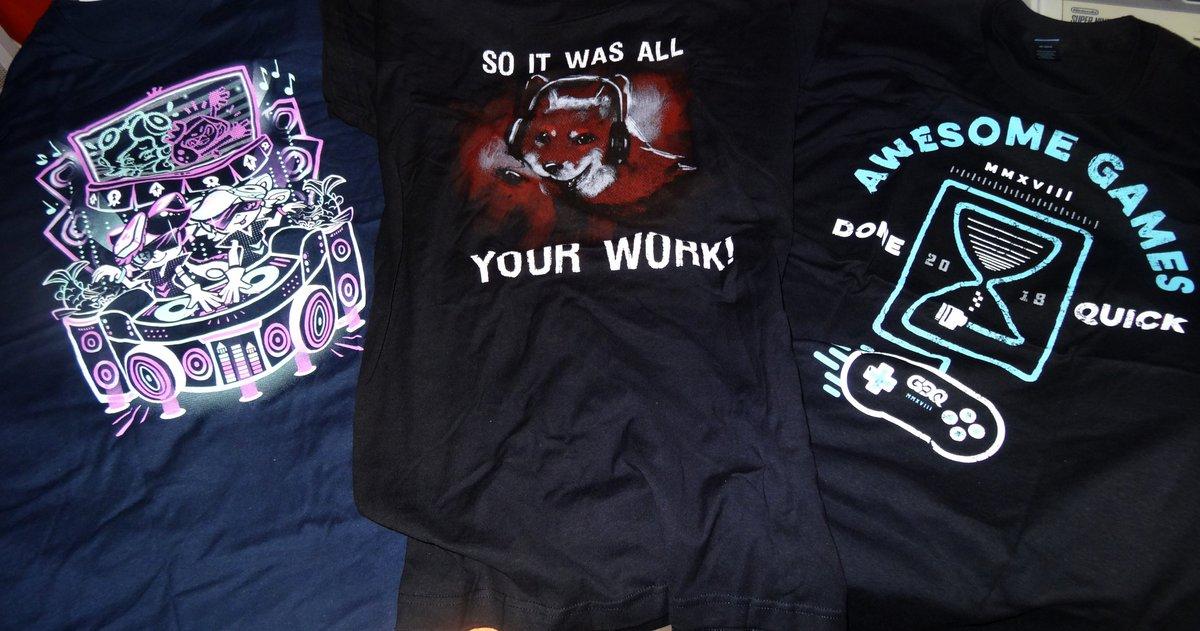 Yéé ! J'ai enfin reçu mes t-shirts The Y...